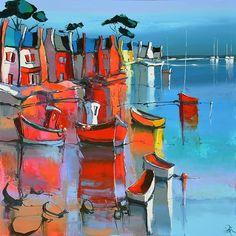 Eric Le Pape, artiste peintre de Bretagne | Nouvelles peintures d'Eric Le Pape