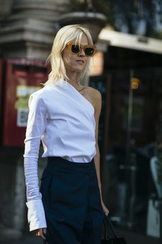 Minimal looks are in this season as shown at Milan Fashion Week. Shop the look at MATCHESFASHION.COM