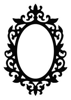 Silhouette Frames, Silhouette Portrait, Wire Crafts, Diy And Crafts, Molduras Vintage, Victorian Frame, Barbie Party, Silver Work, Alice In Wonderland Party