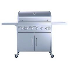 Gascraft BBQ Mackenzie Stainless Steel 6 Burner All In One, Grilling, Bbq, Stainless Steel, Outdoor Decor, Board, Christmas, Barbecue, Xmas