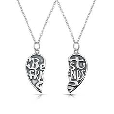 Best Friend Forever (BFF) Necklace Set at BlingJewelry.com