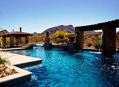 I would LOVE to have a backyard like this. I would live in my pool if I had one....and i will have one!