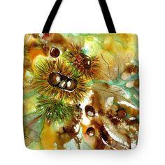 Autumn chestnuts Tote Bag by Sabina Von Arx Yellow Bathroom Decor, Thing 1, Creative Colour, Canvas Prints, Art Prints, Basic Colors, Bag Sale, Color Show, Handicraft