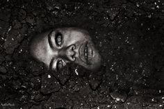 adrienne beacco photography , buried alive , horror , beauty , blind , creepy , worst fear , dark , scary , dirt , mud , photoshop , halloween , halloween makeup , murder , frightening