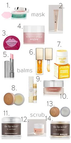 Must Have Products for Dry Lips | Haute Beauty Guide | Sharing tips for turning dry sad lips into soft, plump and happy lips.