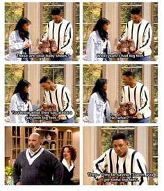 Fresh Prince of Bel-Air does not cease to make me laugh!! Hahaha