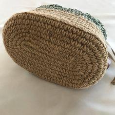 Handmade Bags And Purses Tutorial Crochet Star Stitch, Crochet Stars, Free Crochet, Diy Drawstring Purse, Diy Purse, Crochet Basket Tutorial, Crochet Shoulder Bags, Purse Tutorial, Macrame Bag