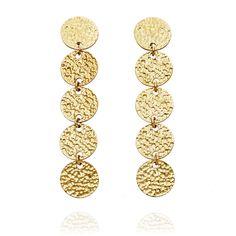 Ethical gold 'Maya' #earrings by JEM