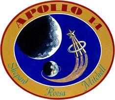 Apollo 14 badge