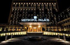 Metropol Palace at night