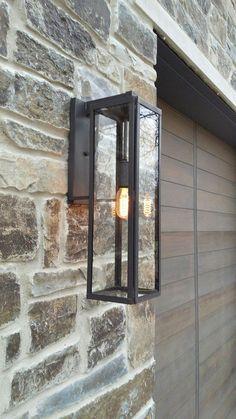 Ideas For Exterior House Lighting Fixtures Outdoor Walls Outdoor Lighting Landscape, Outdoor Wall Lighting, Outdoor Walls, Home Lighting, Modern Lighting, Lighting Design, Lighting Ideas, Club Lighting, Contemporary Light Fixtures
