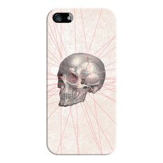 Abstract Gray Vintage Skull Modern Pink Stripes - iPhone 6s... ($35) ❤ liked on Polyvore featuring accessories, tech accessories, iphone case, iphone cover case, clear iphone cases, slim iphone case, apple iphone cases and iphone cases