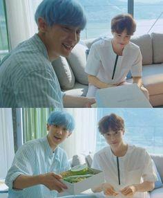 Suho and Chanyeol