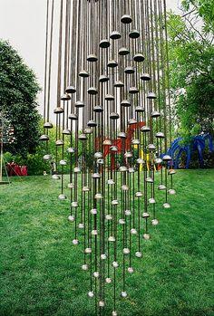 Wind chimes at Oklahoma Arts Festival