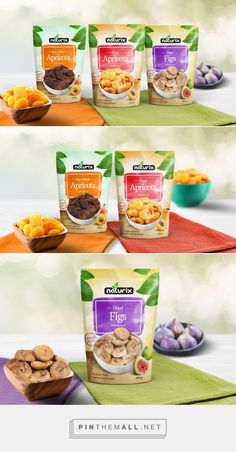 Naturix Dried Fruits - Packaging of the World - Creative Package Design Gallery - http://www.packagingoftheworld.com/2016/02/naturix-dried-fruits.html