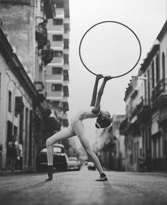 Rhythmic Gymnast, Havana, Cuba, 1999 by Walter Ioos