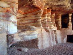 PetraSandStoneRock-cut tombs - Sandstone - Wikipedia, the free encyclopedia