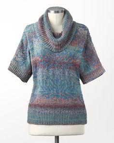 marled cowl sweater - coldwater creek