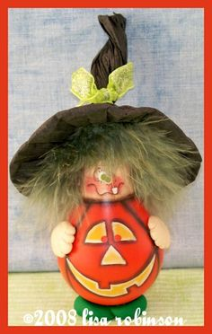 PDF ePattern HaLLoWeEn WiTcH rEcYcLeD LiGhT BuLb by primchick