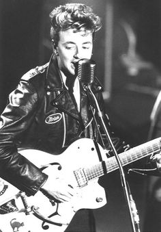 Brian Setzer ... got to see him live back in the late 90s.