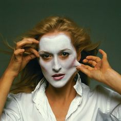 Annie Leibovitz shot this photograph of Meryl Streep for rolling stone magazine. Description from jb5746a.wordpress.com. I searched for this on bing.com/images