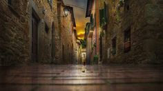 Sunset at Paciano (Italy) by Nicodemo Quaglia on 500px