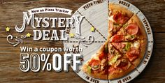 Win a coupon with our Mystery Deal!
