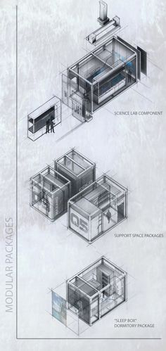 CAARS : Canadian Advanced Arctic Research Station | Raul Martin Saet | Archinect