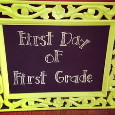 Chalkboard Sign.  #Create2Educate #Sweepstakes. Enter your own project for a chance to win a $50 gift card to Michaels. Learn more:  https://www.facebook.com/Michaels?sk=app_584051421645085