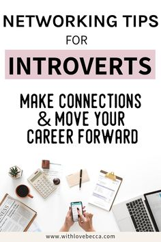 Tips for networking. Make connections and move your career forward, even if networking as an introvert sounds really scary. Career Success, Career Change, Career Goals, Career Advice, Success Mantra, Career Quotes, Career Path, Neuer Job, Job Interview Tips