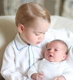 GEORGE Y CHARLOTTE | Príncipe George, Princesa Charlotte