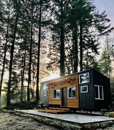 Here's What They Don't Tell You About Living in a Tiny House - Dwell Tiny House Builders, Tiny House Nation, The Kitchen Show, Columbia, Oregon, Micro House, Sleeping Loft, Tiny Houses For Sale, Small Houses