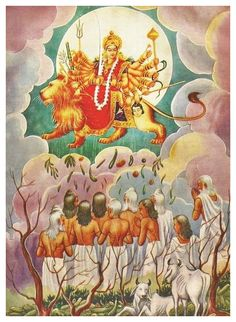 "shaktipeeth: ""The Story of Shakambari Devi. The Story of Shakambhari Devi is recounted in the Devi Mahatmyam (Ch 11), the Devi Bhagavata Purana (Ch 28), and the Murti Rahasyam (an appendage to the Chandi). In these stories, Goddess Shakambhari is..."