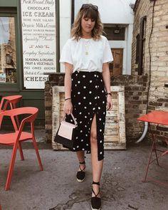 Beat the beat in our Retro Love Midi Skirt ☀️ @bubblyaquarius #fpgirls #taptoshop