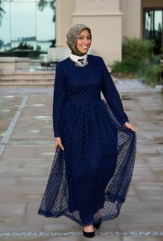 The Elizabeth Gown is here! Haute Hijab