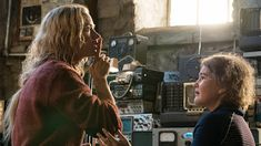 A Quiet Place, Movie Still, Emily Blunt, Millicent Simmonds