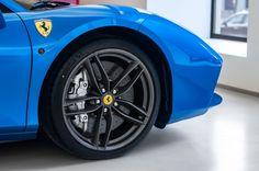 Blu Corsa Ferrari 488 Spider Looks Sensational – automotive99.com