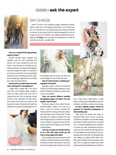 Featured- Interview in Weddings Illustrated Fall/Winter 2013 - KT Merry Photography