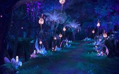 Path of Pixie Guard in Nouixlo Fantasy Art Landscapes, Fantasy Landscape, Fantasy Artwork, Fantasy Places, Fantasy World, Casa Anime, Fantasy Background, Fantasy Forest, Anime Scenery Wallpaper