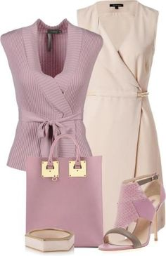 Nude & Pink Office Wear ▶suggested by ~Sophistic Flair~