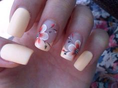Flora Nail Art  #Beauty #Musely #Tip                              …