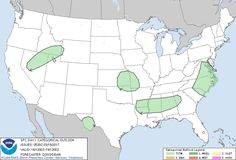 Current Severe Thunderstorm Forecast