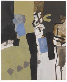 "thunderstruck9: ""Keith Vaughan (British, 1912-1977), Composition, 1973. Gouache…"