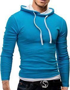 MERISH Pulli Slim Fit Kapuzenpullover Longsleeve Pullover Jacke Shirt 06 Türkis/Weiß S Merish http://www.amazon.de/dp/B00D182G4G/ref=cm_sw_r_pi_dp_tefCub01KDN78