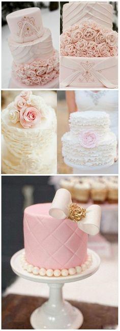 Bolo de casamento Pink