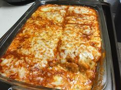 Keto Chicken Enchilada Bake- It's a mess, but suuuuper tasty and easy : ketorecipes