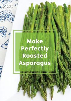 Learn how quick and easy it is to make perfectly roasted asparagus every time for a healthy and delicious side dish for lunch or dinner. Check out the kitchen hack tutorial right here.
