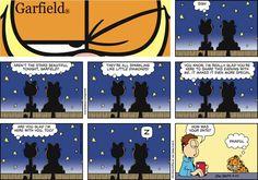 Muito Romântico o nosso Garfield / Cartoon for May/20/2012