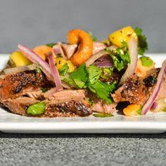 Thai Spicy Duck Salad Recipe - Serious Eats & ZipList