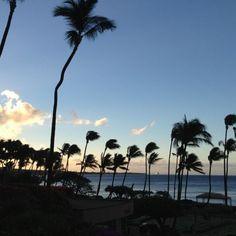 Mahalo @PhDeSimone for this Good morning from Hyatt Regency Maui Resort & Spa!